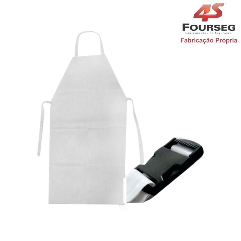 Avental PVC Transparente com Fivela FOURSEG