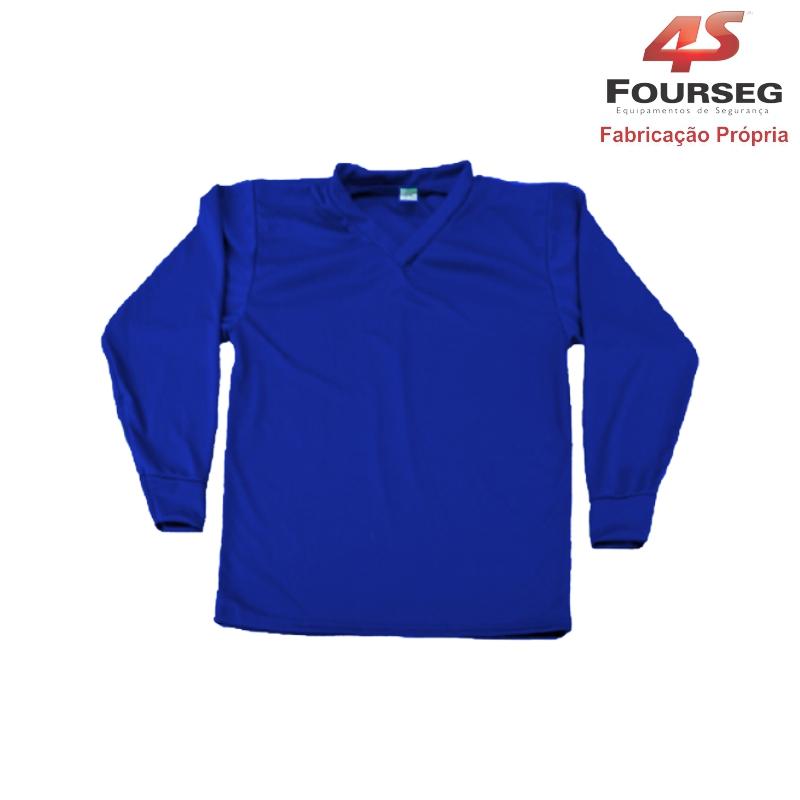 Blusa Helanca Azul FOURSEG