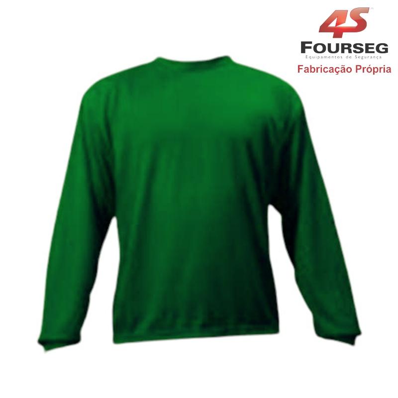 Blusa Helanca Verde FOURSEG