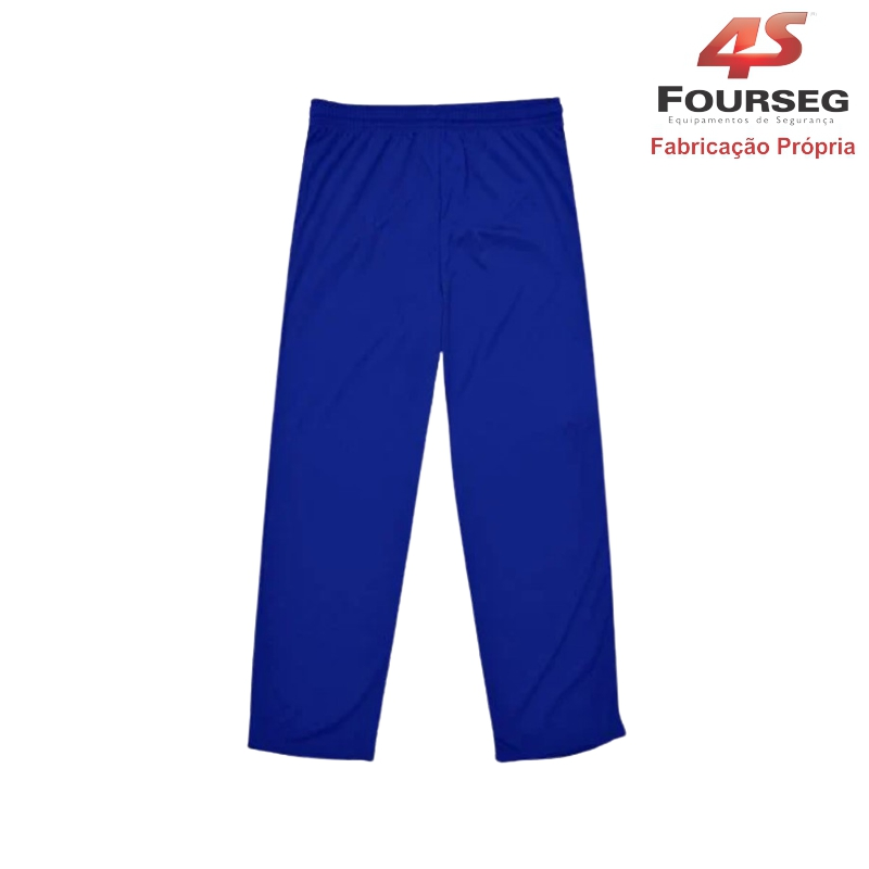 Calça Helanca Azul FOURSEG
