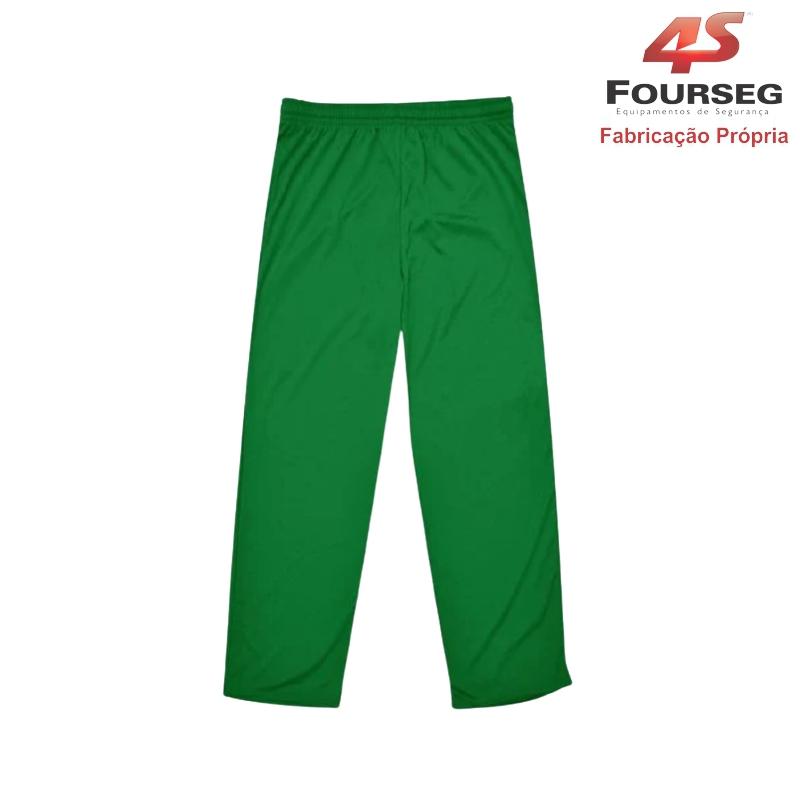 Calça Helanca Verde FOURSEG