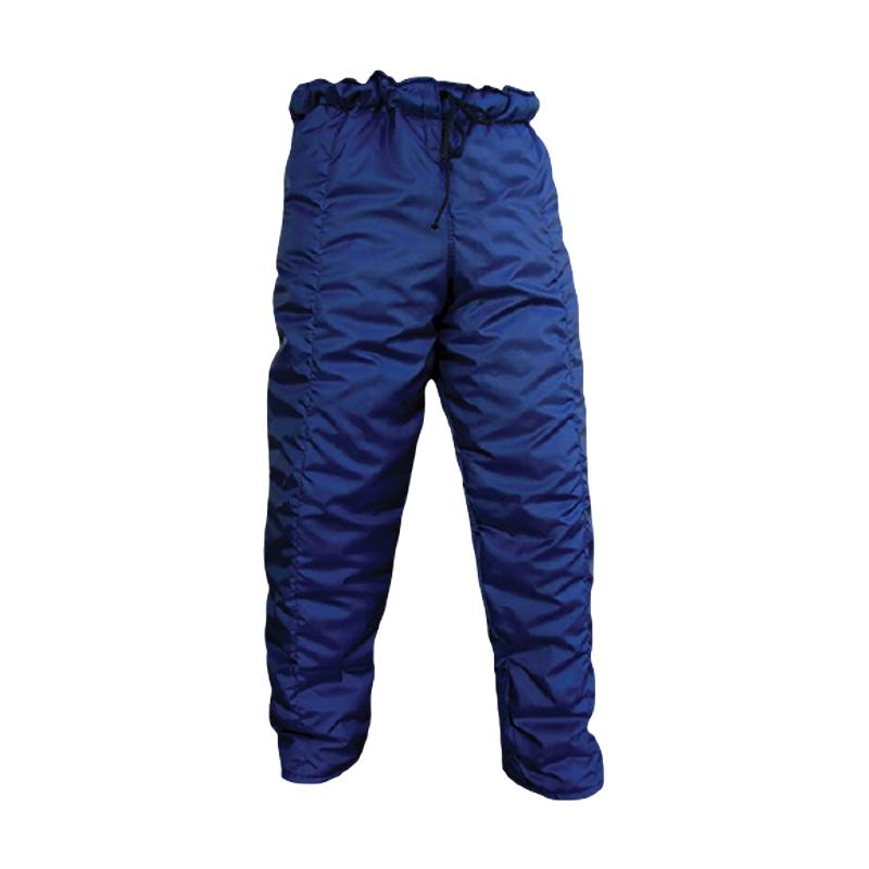 Calça Térmica para Câmara Fria e Baixa Temperatura Azul