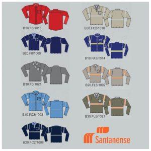 Camisa Uniforme Santanense FOURSEG