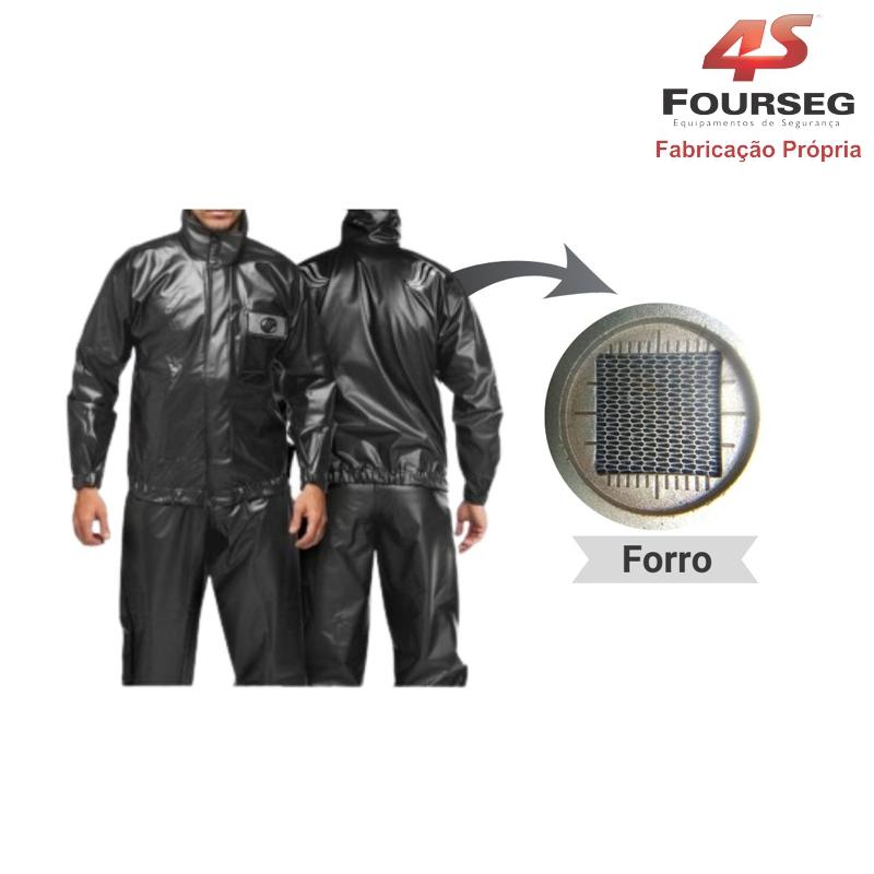 Conjunto PVC Motoqueiro Sem Norfol FOURSEG