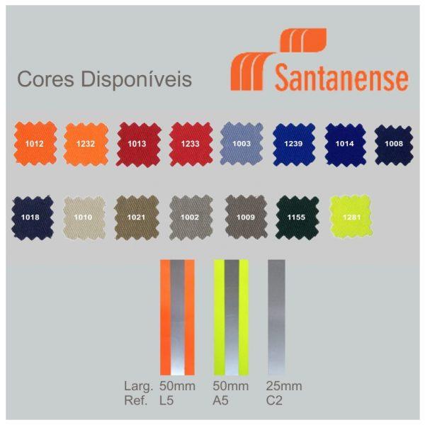Cores Conjunto Uniforme Santanense