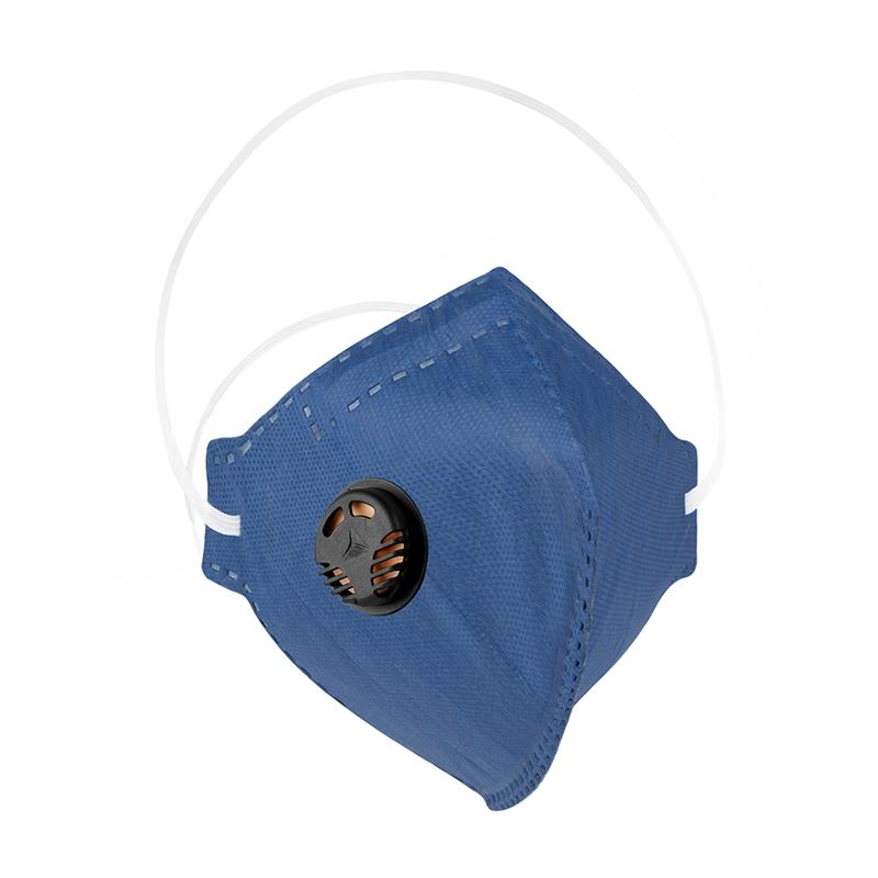 Máscara Descartável PFF2 (S) com Válvula com Carvão Ativo