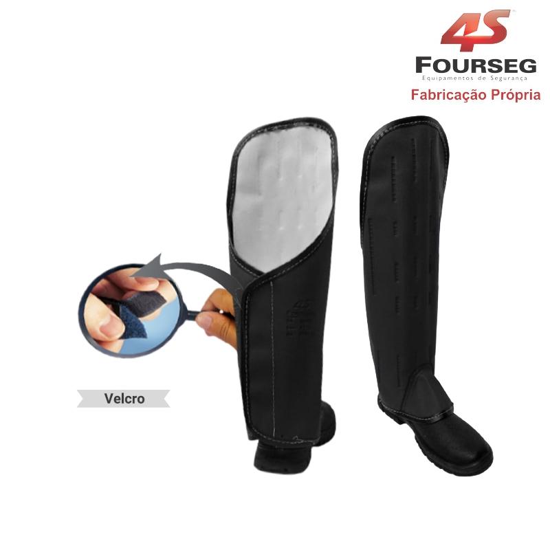 Perneira Longa Velcro 3 talas FOURSEG