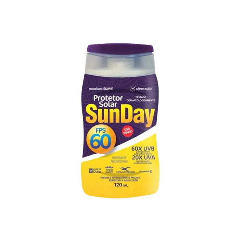 Protetor Solar FPS 60 SUNDAY