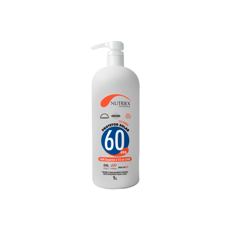 Protetor Solar FPS 60 Profissional NUTRIEX