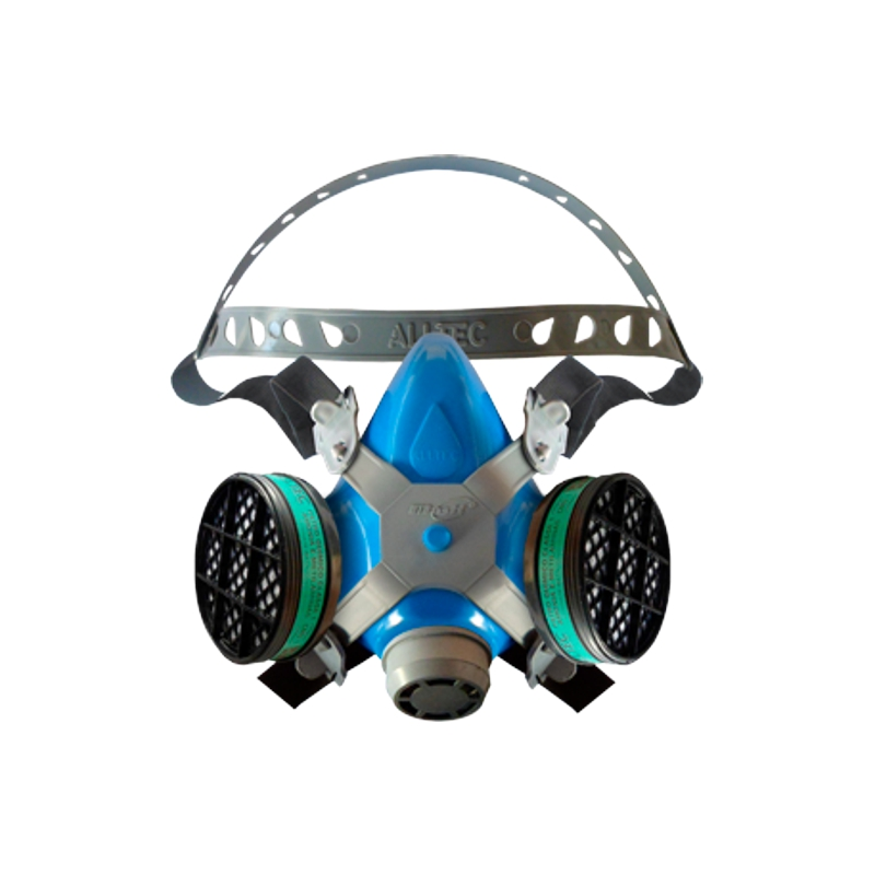 Respirador Semifacial Mastt 2402 A ALLTEC