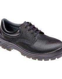 Sapato de Segurança em Couro com Cadarço Preto MARLUVAS